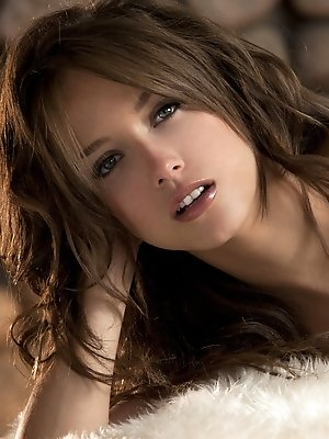 Malena Morgan plays a song...